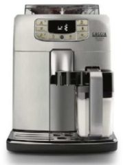 Grijze Gaggia RI8260/47 Vrijstaand Volledig automatisch Espressomachine 1.5l Roestvrijstaal koffiezetapparaat