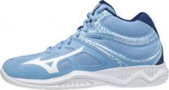 Blauwe Mizuno Thunder Blade 2 Mid Indoorschoenen Dames