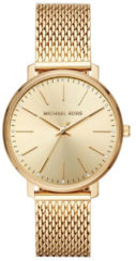 Michael Kors MK4339 Horloge Pyper staal goudkleurig 38 mm