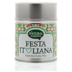 Nat Temptation Fiesta Italiana kruidenmix bio 30 Gram