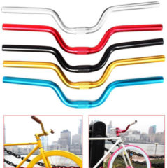 BIKIGHT 1pc Aluminum Alloy Handlebar Bicycle Sporting Bike for Fixed Gear General 520mm