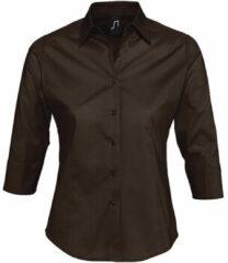 Bruine Overhemd Sols EFFECT ELEGANT