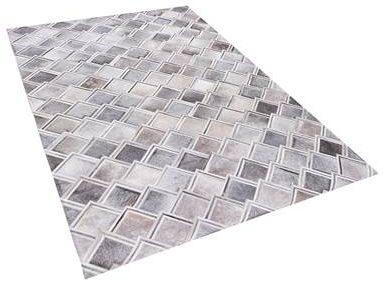 Afbeelding van Beliani AGACLI Vloerkleed Koeiehuid leer 160 x 230 cm