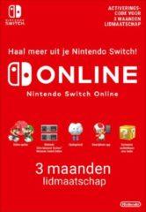 Nintendo digitaal 3 maanden Online Lidmaatschap - Nintendo Switch