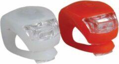 Elemental GOods Fietsverlichting Voor En Achter - Fietslamp - Siliconen - Rood En Wit