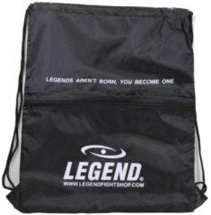 Legend Sports sporttas met vakje 40 x 50 cm zwart