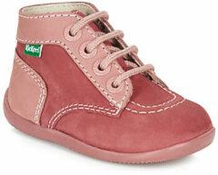 Roze Boots en enkellaarsjes Bonbon by Kickers