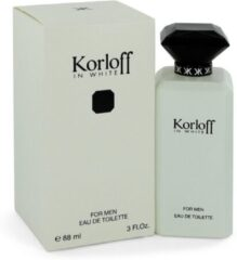 Korloff In White For Men Eau De Toilette 88 ml (man)