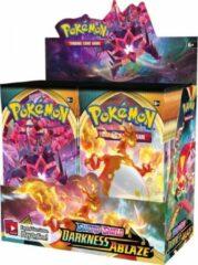 Trading Card Game TCG Pokémon Sword & Shield Darkness Ablaze Booster Box