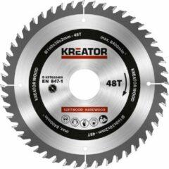 Kreator KRT020409 Zaagblad hout 160 mm - 48T