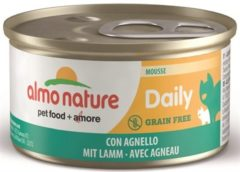 Almo Nature Cat Blik Daily Menu Mousse 85 g - Kattenvoer - Lam - Kattenvoer