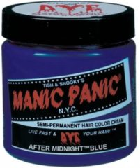 Blauwe Manic Panic Amplified Aftermidnight Blue - Haarverf