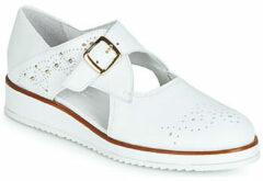 Witte Nette schoenen Regard RIXALO V1 NAPPA BLANC