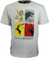 Game Of Thrones Game of Thrones Heirs to the Throne T-Shirt Grijs N.v.t. Unisex T-shirt Maat M