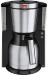 Zwarte Melitta filterkoffieapparaat Melitta Look Therm DeLuxe 1011-14, filterkoffieapparaat met thermoskan