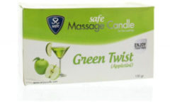Safe Massagekaars groen Twist Appletini - Glijmiddel