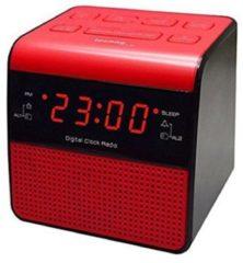 Techno Line TechnoLine WT 463 Radiowecker - rot