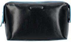 Blue Square Kulturbeutel Leder 23 cm Piquadro black