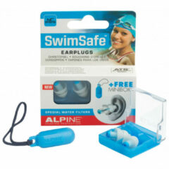 Witte Alpine Hearing protection Alpine Swimsafe - Oordoppen - Zwemmen - 1 paar