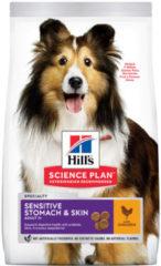 Hill's Canine Adult Sensitive Stomach - Skin Kip Medium 12 kg