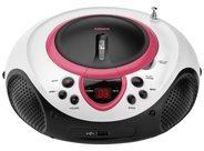 STL Deutschland GmbH STL Lenco SCD-38 USB Analog Pink CD-Radio SCD-38 USB PINK