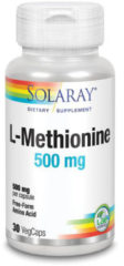 Solaray L-Methionine 500 mg 30 Vegetarische Capsule