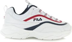 Fila Ray F Low 1010578-01M, Mannen, Wit, Sneakers maat: 44 EU