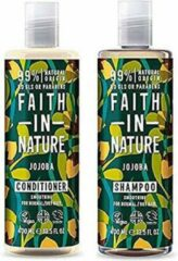 Faith in nature jojoba shampoo en conditioner