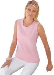 Roze Casual Looks shirttop van puur katoen