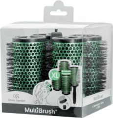 Groene Olivia Garden Olivioa Garden MultiBrush Borstel Set kit 56mm Size: XL