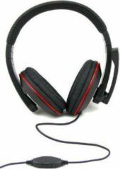 Esperanza EH118 hoofdtelefoon/headset Hoofdband Zwart, Rood
