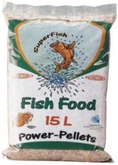 Superfish Power Pellet Zak - 15 Liter