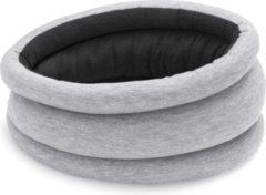 Grijze Ostrich Pillow Light Nekkussen - Omkeerbaar - Grey