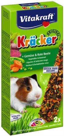 Afbeelding van Vitakraft Cavia Kracker Knaagdierensnack - Groente - 2 Stuks