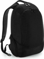 Merkloos / Sans marque Laptop backpack slimline zwart 16L