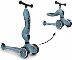 Zilveren Scoot & Ride Scoot and Ride Highwaykick 1 Loopfiets / Step - Steel