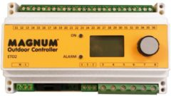 Magnum rail thermostaat temperatuur / vocht 3x16a 230v