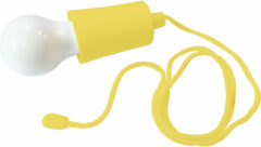 Geeek LED Licht Trekkoord Lamp Lichtbulb - LED Peertje - LED Campinglamp Geel