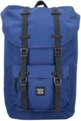 Little America 17 Backpack Rucksack 52 cm Laptopfach Herschel twilight blue-black rubber