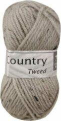 Cheval Blanc Country Tweed wol en acryl garen - beige (038) - pendikte 4 a 4,5 mm - 1 bol van 50 gram
