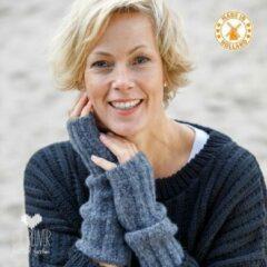 Grijze De Reuver Knitted Fashion ARMWARMERS 100% NEDERLANDS (554)