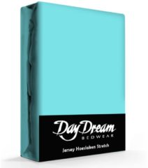 Day Dream Jersey Hoeslaken Aqua-140 x 200 cm