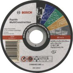 Bosch Power Tools 2 608 602 385 - Trennscheibe Rapido MC125x1,0mm 2 608 602 385