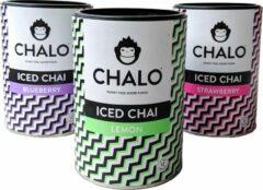CHALO Iced Tea - Iced Chai Selectie - Zwarte Assam thee - 3 x 300GR