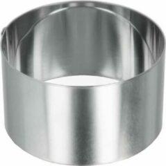 Metaltex Multifunctionele Kookring 10 Cm Rvs Zilver