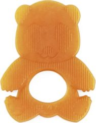 Oranje Hevea Bijtring Panda 0+ 100% natuurlijk rubber