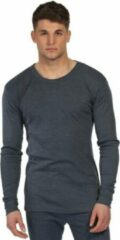 Blauwe 2 Pack Regatta Thermal Cool T-Shirt Lange Mouw -M- Denim