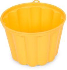 Gele Patisse puddingvorm kunststof 0,5ltr