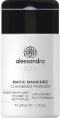 Alessandro Magic Manicure Powder - Reiniger voor de Handen - Reinigingspoeder met Hyaluronzuur - 40 gram