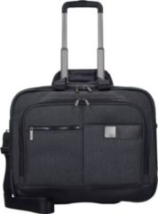 Power Pack 2-Rollen Businesstrolley 48 cm Laptopfach Titan mixed grey